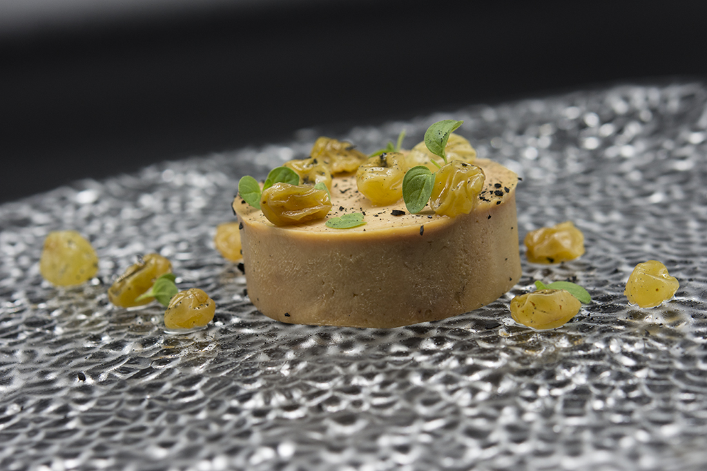 Foie gras in torchon al Passito Photo_by_Luca_Belfiore